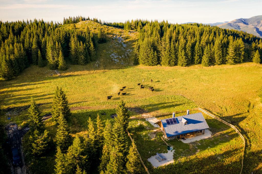 Grünau Alm Luftaufnahme Mariazell