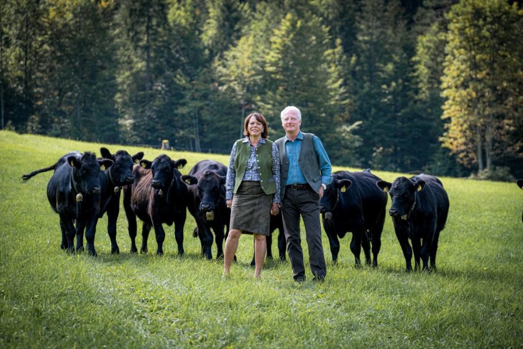 Aberdeen Bio Angus Kari und Isabella Kapsch