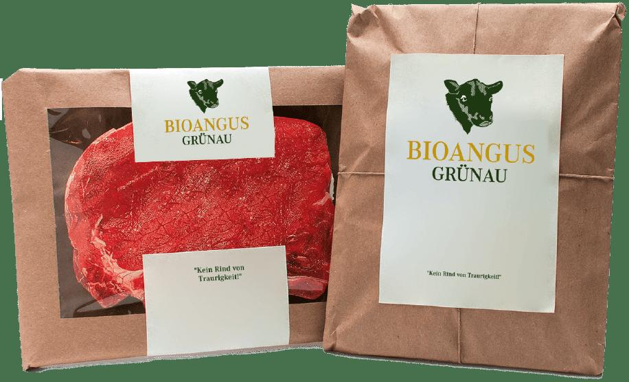 Bioangus Grünau Verpackung