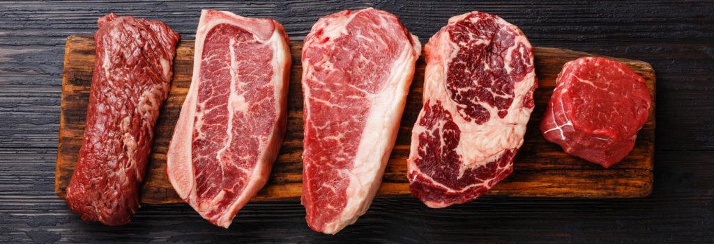 Aberdeen Angus Bio Steakfleisch perfekt gereift